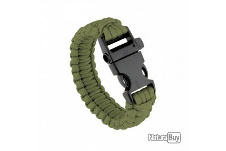 Bracelet de Survie Outdoor Tress/é Bracelet Rope Corde Nylon avec Fermoirs en Acier Inoxydable kitteny paracorde Bracelet