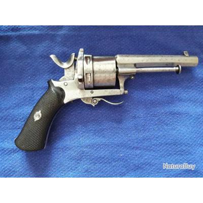 Rare revolver de transition calibre 320