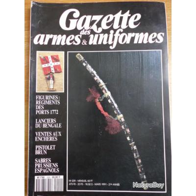 Gazette des armes et des uniformes N° 209