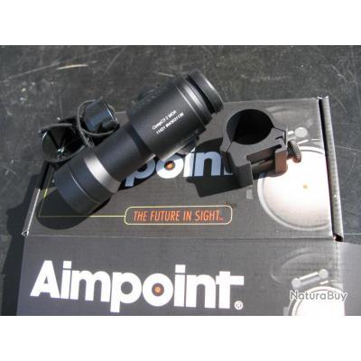 Aimpoint Compact C3, point 2 MOA avec collier 30 mm pour montage sur rail Weaver/Picatinny...Promo