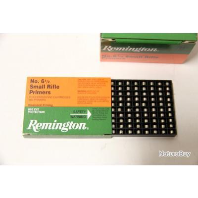 Lot de 1000 Amorces Remington Small Rifle