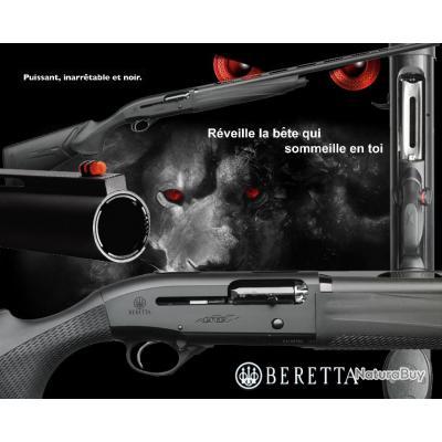 "BERETTA A400 ULTRA LITE SYNTHETIC ""PROMO BLACK DAY$"" Kick-off sans Gun-Pod Calibre 12/76 Canon 66cm"