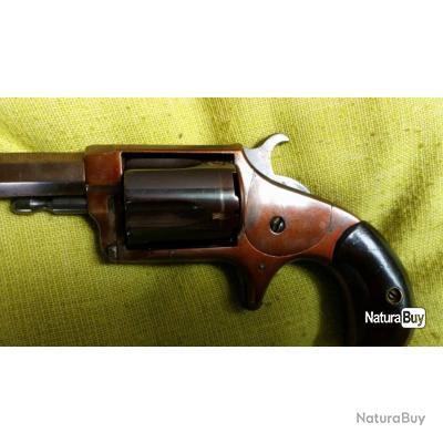 revolver  des années 1870 Hopkins & Allen xl7 n°2 calibre .32 rim-fire
