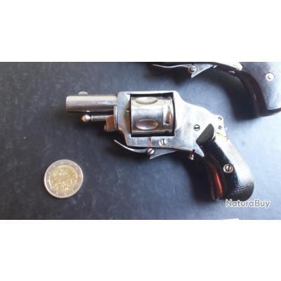 mini revolver hammerless 8MM (avec sureté)