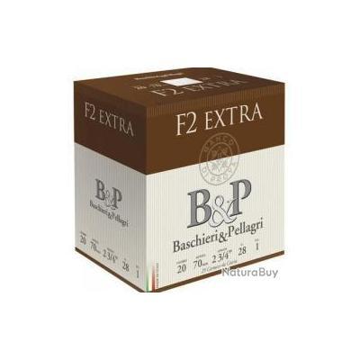 CARTOUCHES B&P F2 EXTRA C20 28GR CAL 20/70 DISPO EN Pb N 4,5,6,7,8,9,10,11 et 12