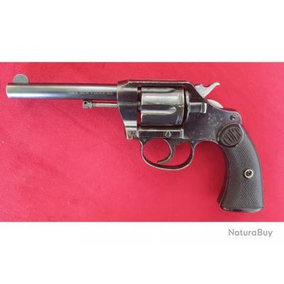 Superbe Colt New Police bronzé, calibre 32 S&W Long