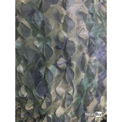 NOUVEAUTE : FILET DE CAMOUFLAGE TRIPLE MECHE GHOST 3D 4 X 1.50 M