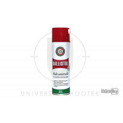 Aérosol huile universelle 400 ml. - Ballistol