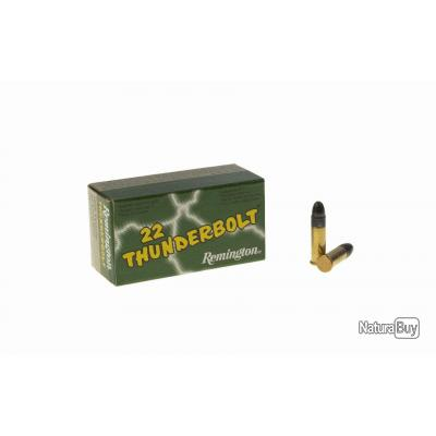 2 X Boites de 50 Balles Remington Calibre 22LR Thunderbolt