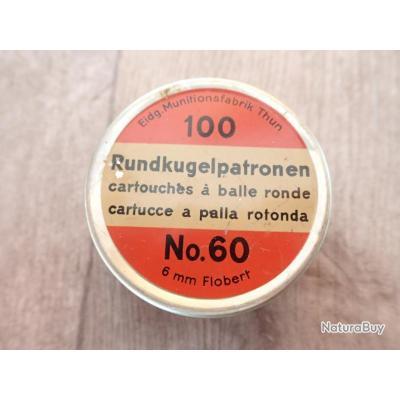 Boite de munitions 100 cartouches à balle ronde