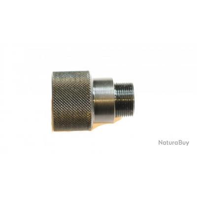 Adaptateur pour modérateur mini UZI diamètre 18 pas de 1 mm