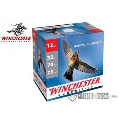 CARTOUCHES WINCHESTER SPECIAL MIGRATEUR 32G CAL 12/70 DISPONIBLE EN PB 7.5,9,10,11 et 12
