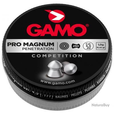 1 Boite de 250 Plombs perforants GAMO Pro Magnum Cal.4.5mm
