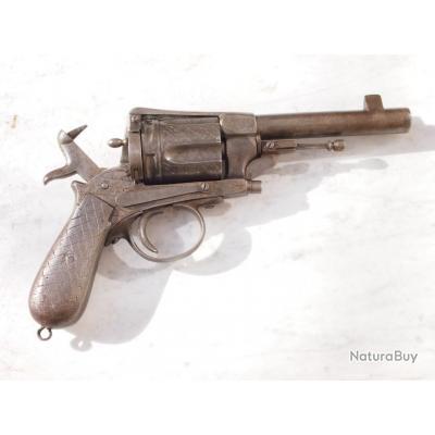 rare lourd et imposant revolver réglementaire au modèle M1880 GASSER monténégrin 11.3 x 29.5 mm
