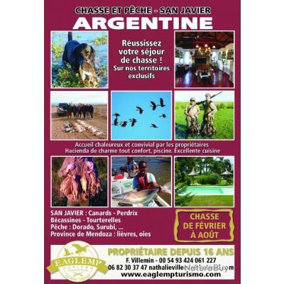 Séjour de chasse San Javier ARGENTINE EAGLEMP TURISMO