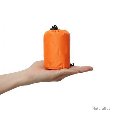 Sac de couchage de survie multi-usages ultra léger ultra compact + cadeau