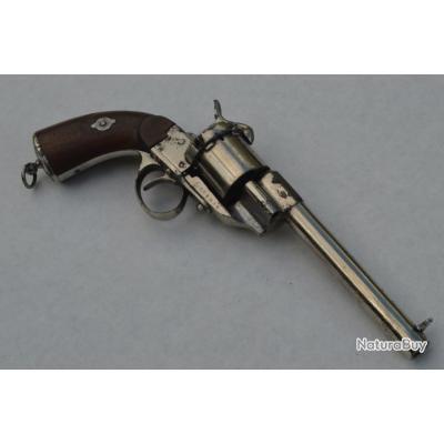 REVOLVER LEFAUCHEUX 1854 Calibre 12mm LF111039 - France XIXè France Très bon  XIX eme Civil Categori