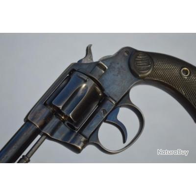 REVOLVER COLT NEW POLICE 1898 OTTAWA POLICE N°41 Cal 32 S&W long - US XIXe Très bon  U.S.A. XIX eme