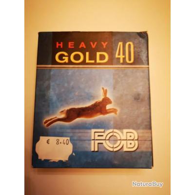 1 boîte de 10. cartouches FOB Gold 40 Heavy cal 12/70 SUPER PRIX !!!
