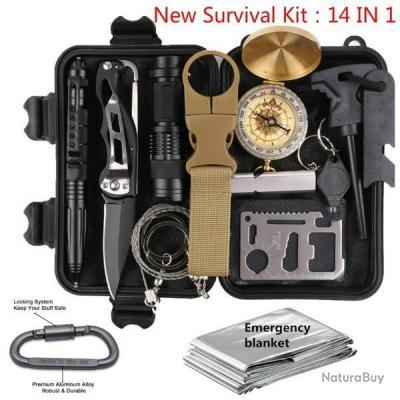 kit de survie complet neuf