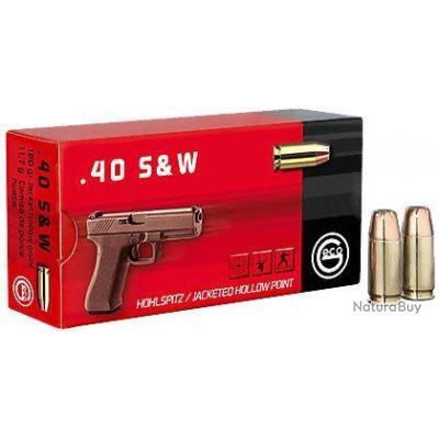 1 Boite de Munitions Geco 40SW 11.7G/180Grs