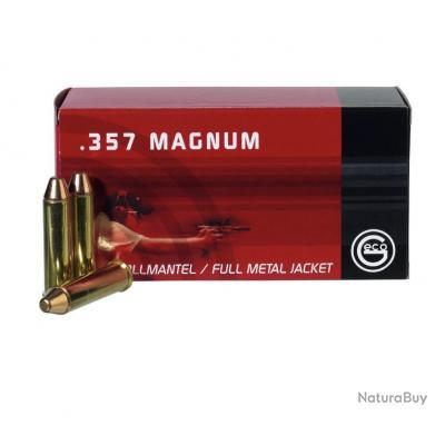 1 Boite de Munitions Geco 357Mag 158Gr