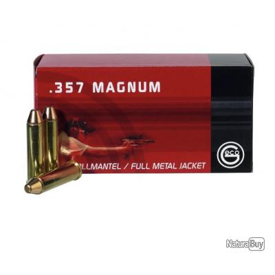 10 Boites de Munitions Geco 357Mag 158Gr