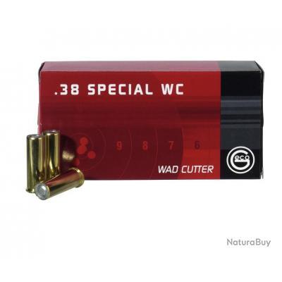 1 Boite de Munitions Geco 38WC 150Gr
