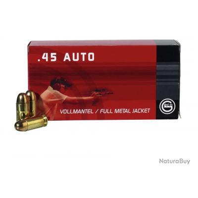 10 Boites de Munitions Geco 45ACP 230Gr