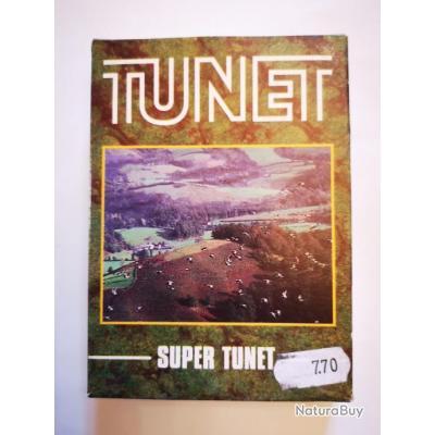 "1 boîte de cartouches Tunet ""Super Tunet"" cal. 20/70 DESTOCKAGE!!!"