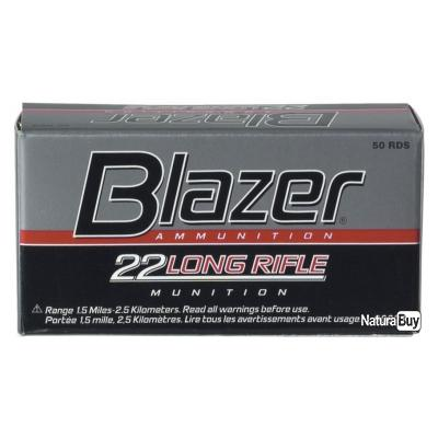 50 Munitions 22LR CCI blazer