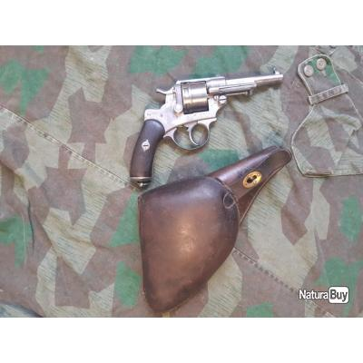 Revolver Mle 1873 Réglementaire 1883 avec Etui Jambon
