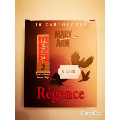 1 boîte de cartouches Mary Arm Régence cal. 12/67 DESTOCKAGE!!!