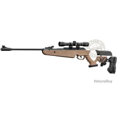 Carabine à plombs B.O.Manufacture QUANTICO 4.5 mm (19.9 Joules) + Lunette 4x32 Tan