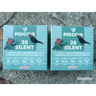 50 cartouches Fiocchi cal 28  silent  plb de 9