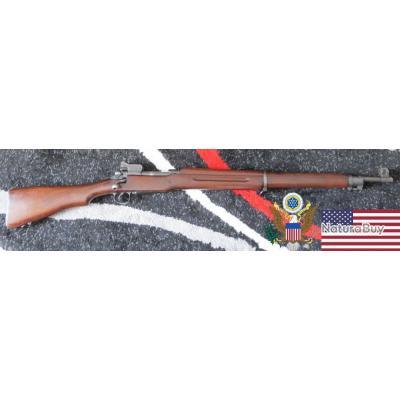 US M1917 Enfield calibre 30-06 Sporting + bretelle cuir + baïonnette & fourreau + outils