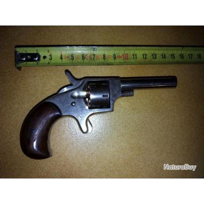 Petit revolver de défense 22 short américain canon lisse apte au tir sans prix de réserve