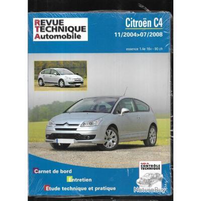 citroen c4 11-2004 à 07-2008 essence 1.4e 16v 90 ch , revue technique automobile etai