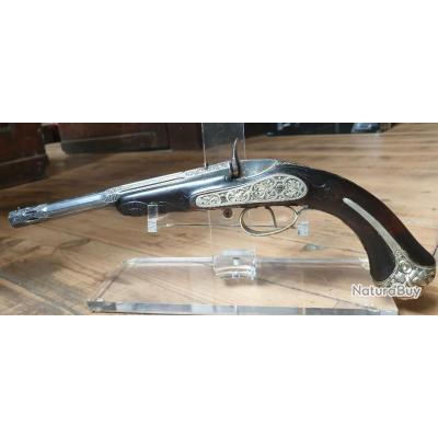 Très beau Pistolet flobert signé Lepage