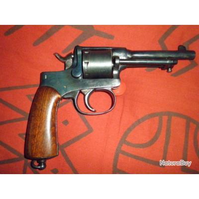 tres beau revolver RAST GASSER modéle 1898 en 8mm Gasser
