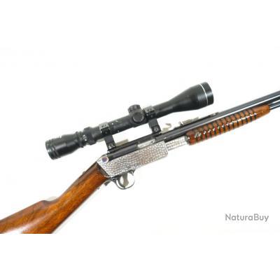 CARABINE A POMPE BSA .22 LR, TRES RARE !