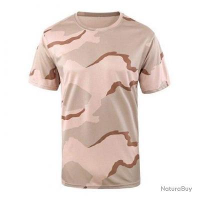 T shirt WolfE Breath Camo Sable