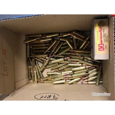 lot de balles en calibre 7 RM marques GPA SAUVESTRE BRENNEKE S&B REMINGTON HORNADY