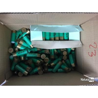 MUNITIONS COLLECTOR DOUILLES CARTON CALIBRE 12