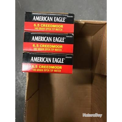 munitions 6.5 creedmoor american eagle