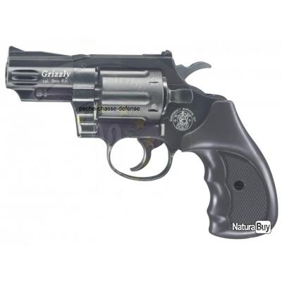 REVOLVER D'ALARME SMITH ET WESSON GRIZZLY CALIBRE 9MM