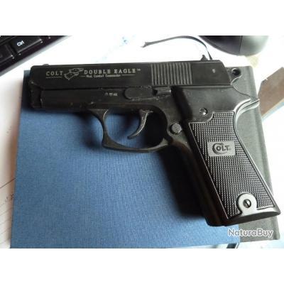 Pistolet d'alarme Colt double eagle cal 9 MM Combat commender