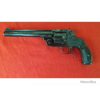 Très beau revolver Smith & Wesson New modèle N°3 Target 38/44 S&W, catégorie D