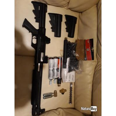 fusil a pompe lanceur walther SG68  Cal.68  (lot complet) a saisir ! airsoft entrainement défense