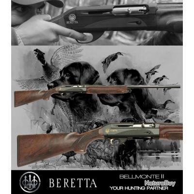 BERETTA BELLMONTE II Calibre 12/76 Canon 76cm